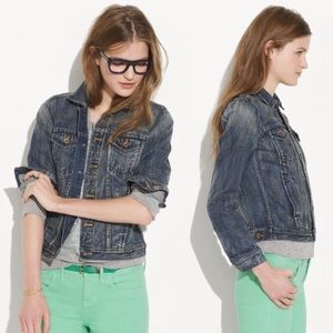 Madewell Jean Jacket Storm Cloud Extra Small XS